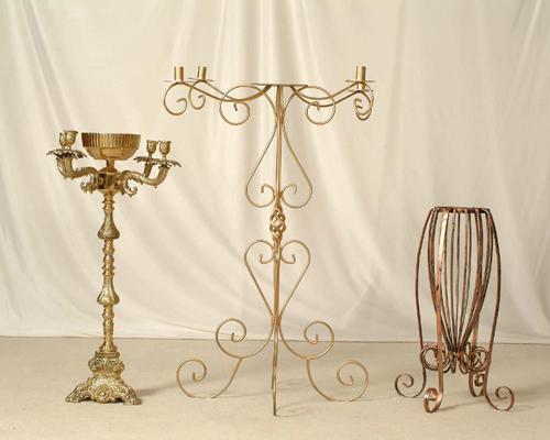 Miami Collection, ... Exclusive candelabras for all occassions