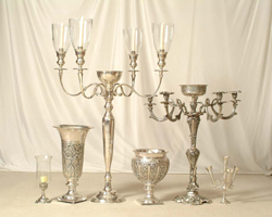 Candelabras for rent in Miami, ... a great Collection for your great event