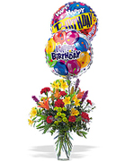 Birthday arrangements in Miami... Happy Birthday with the most fresh flowers arrangements and premium roses of Miami and all the United States... best wishes with Terra Flowers arrangement for birthday... We guarantee delivery to houses, offices, school, hospital in all the Miami area...